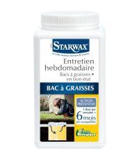 Entretien bac à graisses hebdomadaire 6 mois 750 g - STARWAX