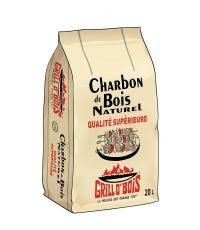 Charbon de bois 20 litres  - GRILL O'BOIS