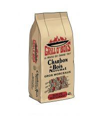 """Charbon de bois """"qualité restaurant"""" grill o'bois sac 40 litres"""