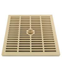 grille légère 30 x 30 sable polypropilène - INTERPLAST