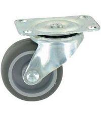 Roulette d'ameublement pivotante - Charge admissible 12kg. Ø32mm - CIME