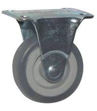 Roulette d'ameublement à platine  fixe - Charge admissible 20kg. Ø50mm - CIME