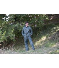 Pantalon et veste d'averse vert XXL - BLACKFOX