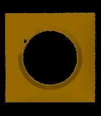 Plaque 1 poste Dooxie coloris dune - LEGRAND