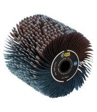 Brosse à lanières abrasives dimension: 120x100mm - FARGROUP