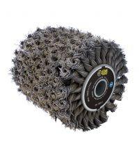 Brosse fibre métal torsadées pour REX120C et XL - FARGROUP