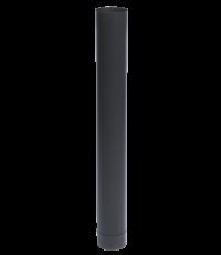 Conduit émail noir mat ø150 mm x 100 cm - TEN
