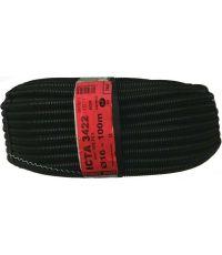 Gaine câble électrique ICTA 3422 Ø16 100m tire-fil noir - ELECTRALINE