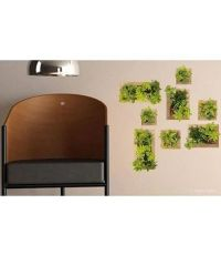 Sticker mural jardin vertical 2 planches - DESIGNERS BY PLAGE