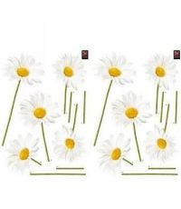 Sticker mural marguerites 2 planches - NATURE DECO