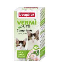 Comprimés aux plantes x50 pour chaton et chat Vermipure - BEAPHAR