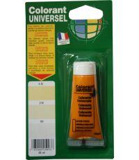 Colorant universel pour peinture coloris jaune foncé 25 ml