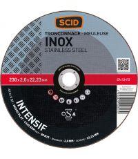 Disque à tronconer inox  Ø230 x 1,8 - SCID