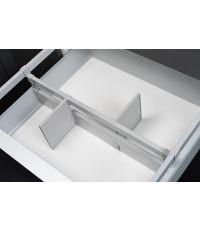 Séparateur gris coffre standard 90 + 2 volets
