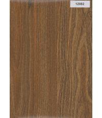 Plinthe sol stratifié Noyer Choco 2200 x 58 x 12 mm - ALSAPAN