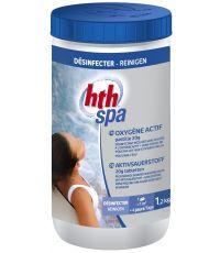 Oxygène actif désinfection sans chlore 1,2 Kg - HTH SPA