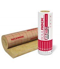 Roulrock kraft - Rouleau laine de roche avec kraft 5x1,20m 100mm R2,50 - ROCKWOOL