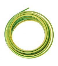 Fil d'alimentation électrique ho7vk 1x1,5 vert/jaune-5m
