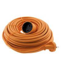 Prolongateur 16a ho5vv-f 2x 1,5 2p sans terre orange 20m - ZENITECH