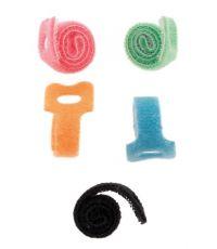 5 rubans auto agrippants (12 cm) pour cordon ou cable - INOTECH