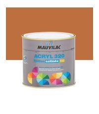Peinture murs et plafonds Acryl 320 Satin - brique- 0.5 L  - MAUVILAC