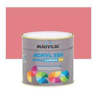 Peinture murs et plafonds Acryl 320 Satin - framboise- 0.5 L  - MAUVILAC