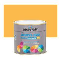 Peinture murs et plafonds Acryl 320 Satin - orange du midi - 0.5 L  - MAUVILAC
