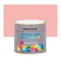 Peinture murs et plafonds Acryl 320 Satin - rose flamand - 0.5 L  - MAUVILAC