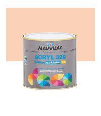 Peinture murs et plafonds Acryl 320 Satin - saumon - 0.5 L  - MAUVILAC