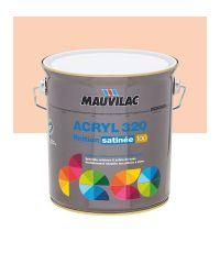 Peinture murs et plafonds Acryl 320 Satin - saumon - 2.5 L  - MAUVILAC