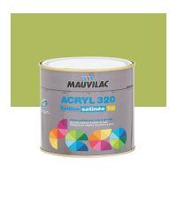 Peinture murs et plafonds Acryl 320 Satin - vert fougère - 0.5 L  - MAUVILAC