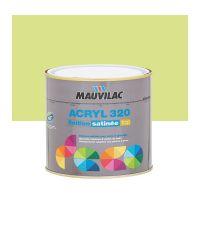 Peinture murs et plafonds Acryl 320 Satin - vert pistache - 0.5 L  - MAUVILAC