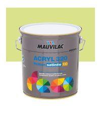 Peinture murs et plafonds Acryl 320 Satin - vert pistache - 2.5 L  - MAUVILAC