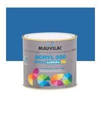 Peinture murs et plafonds Acryl 320 Satin - bleu espace - 0.5 L  - MAUVILAC