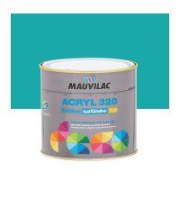 Peinture murs et plafonds Acryl 320 Satin - bleu flibustier- 0.5 L  - MAUVILAC