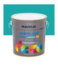 Peinture murs et plafonds Acryl 320 Satin - bleu flibustier - 2.5 L  - MAUVILAC