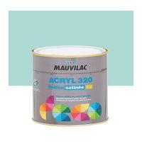 Peinture murs et plafonds Acryl 320 Satin - bleu tuquoise - 0.5 L  - MAUVILAC