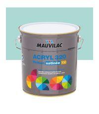 Peinture murs et plafonds Acryl 320 Satin - bleu turquoise - 2.5 L  - MAUVILAC