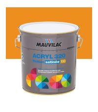 Peinture murs et plafonds Acryl 320 Satin - orange papaye - 2.5 L  - MAUVILAC