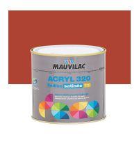 Peinture murs et plafonds Acryl 320 Satin - rouge cerise - 0.5 L  - MAUVILAC