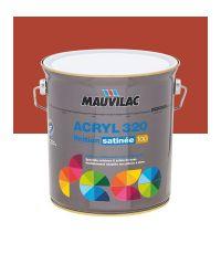 Peinture murs et plafonds Acryl 320 Satin - rouge cerise - 2.5 L  - MAUVILAC