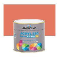 Peinture murs et plafonds Acryl 320 Satin -rouge goyave - 0.5 L  - MAUVILAC