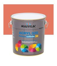 Peinture murs et plafonds Acryl 320 Satin - rouge goyave- 2.5 L  - MAUVILAC