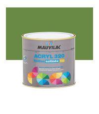 Peinture murs et plafonds Acryl 320 Satin - vert champagne - 0.5 L  - MAUVILAC