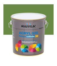 Peinture murs et plafonds Acryl 320 Satin - vert campagne - 2.5 L  - MAUVILAC