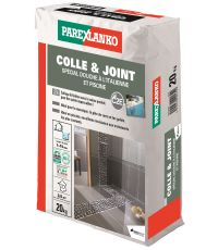 Colle & joint carrelage douche italienne & piscine 20kg - PAREXLANKO