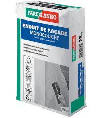 Enduit monocouche gris G50 25kg - PAREXLANKO