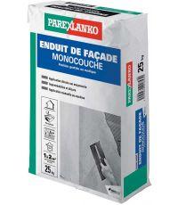 Enduit façade monocouche blanc naturel G00 25kg - PAREXLANKO