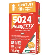 Mortier-Colle Prolidal Max 5024 gris - PAREXLANKO