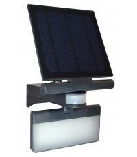 TIBELEC Projecteur solaire LED avec détecteur